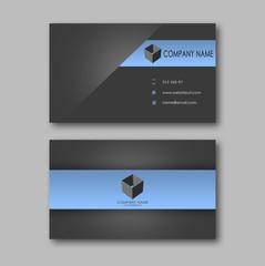 Fototapeta Dark business card obraz