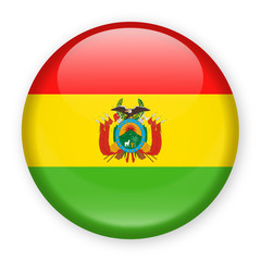 Bolivia Flag Vector Round Icon