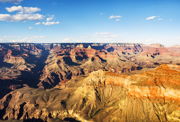 The Skeleton from the Grand View Point - Grand Canyon, South Rim, Arizona, AZ, USA