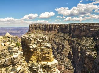Bright Angel View Point - Grand Canyon, South Rim, Arizona, AZ, USA