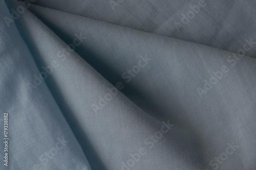 Blue soft blanket texture background Blue knitting texture