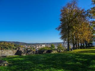 Alt-Arnsberg von der Schloßruine gesehen