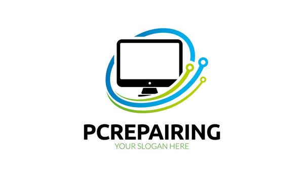 Pc Repairing Logo