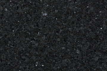 Foto auf Acrylglas Marmor Detail view of black granite surface.
