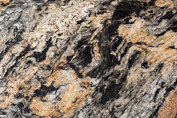 Canvas Prints Marble Seamless dark granite texture.