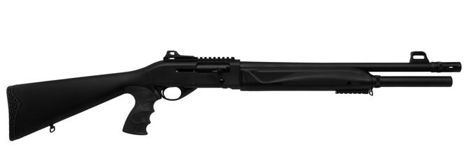 Shotgun isolated on white