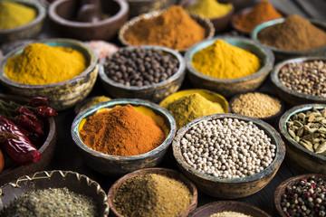 In de dag Kruiden Colorful spices
