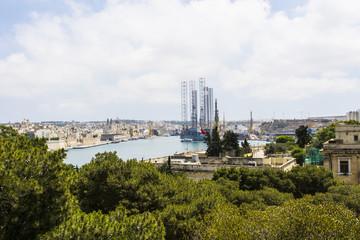 Shipyard on Malta