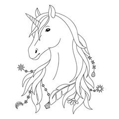 Unicorn Tattoo Symbol