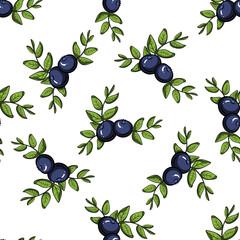 Blueberry Pattern 1