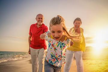 Spaß mit Großeltern