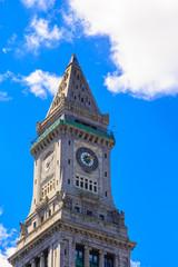 Boston Landmark Under Nice Sky