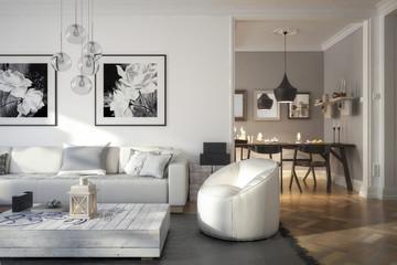 Ramgestaltung: Apartment