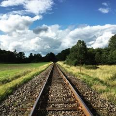 Papiers peints Voies ferrées railway