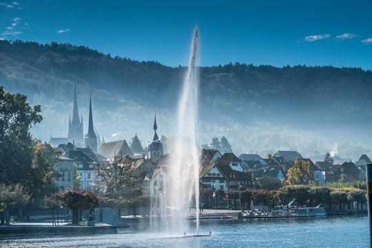 Old city of Zug, Canton Zug, Switzerland