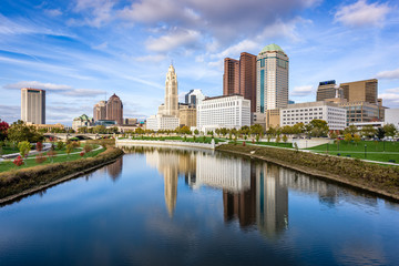 Fototapete - Columbus, Ohio, USA