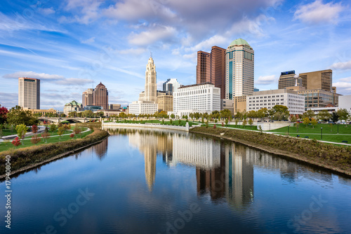 Fototapete Columbus, Ohio, USA