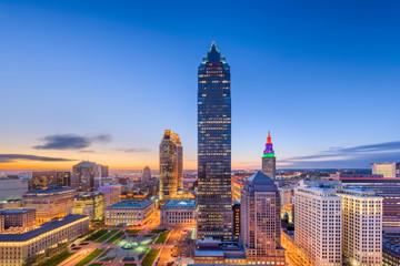 Cleveland, Ohio, USA downtown city skyline.
