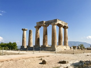 Doric Temple, Corinth , Greece