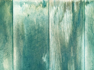 Old wood and plank wall texture for blue background