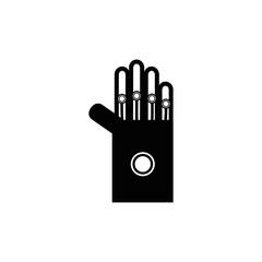 line hand virtual reality inside video game