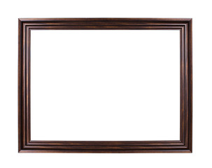 Classic frame isolated on white background