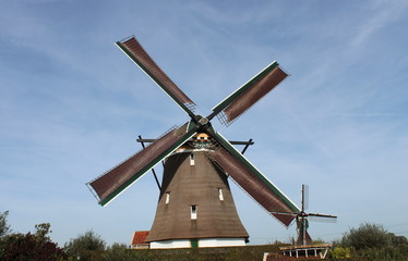 Windmill in the Tweemanspolder, Zevenhuizen
