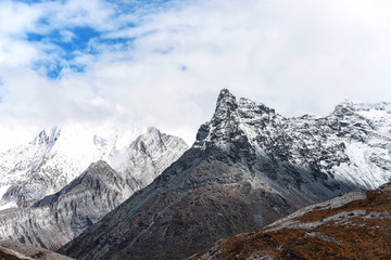 Snow mountain in Yading national reserve