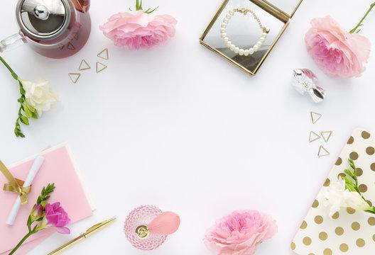 feminine Background – royaltyfrie bilder, grafikkfiler