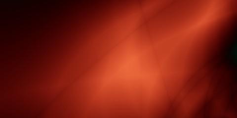 Fantasy abstraction orange dark wide screen pattern