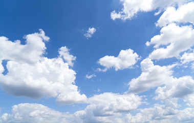 cloudscape and blue sky for backgrounds