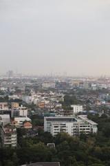 Bangkok buildings in big city