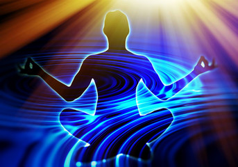 Meditation in der Stille