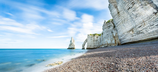 Cliff at alabaster coast in France/Normandie