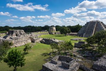 Site maya de Mayapan, Yucatán, Mexique