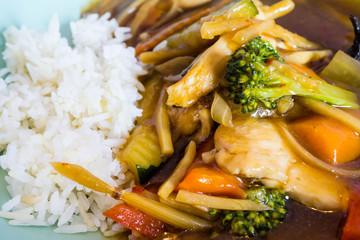 Kung Pao asiatisches Essen