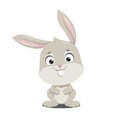 Bunny. Vector illustration