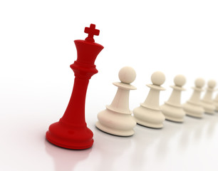 king and pawns - leadership conceptual background