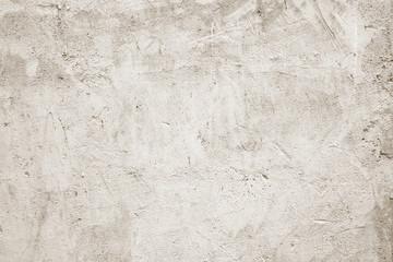 Fotobehang - Blank white grunge cement wall texture background, banner, interior design background