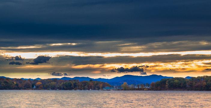 Sunset on Shelburne Bay