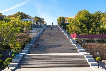 Potemkin steps in Odessa, Ukraine