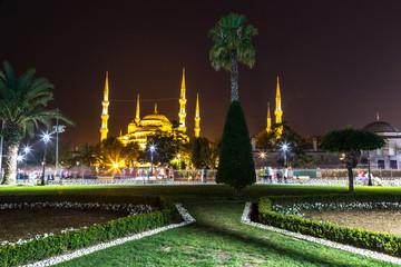 Blue mosque (Sultan Ahmet) in Istanbul