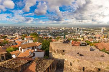 Panoramic view of Ankara, Turkey