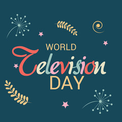 World Television day.