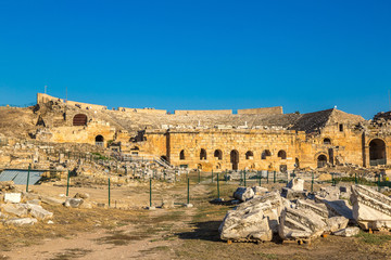Ancient city Hierapolis in Turkey