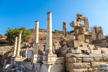 Ancient city Ephesus, Turkey