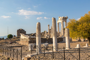 Temple of Trajan in Pergamon, Turkey