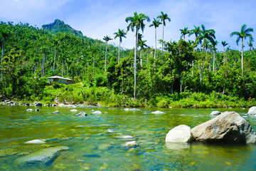 Baracoa Landscape, Cuba