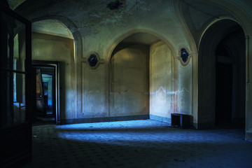 Villa abbandonata.