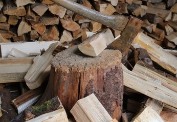 Wundervoll Holz Spalten Ofenfertig